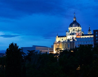Madrid at Blue Hour | Spain Photography