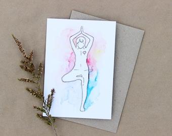 Yoga Gift Card- Print