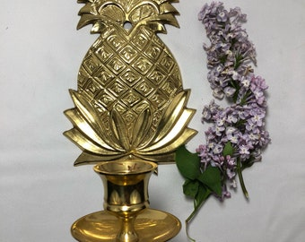 Pineapple Wall Hanging Candle Sconce