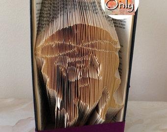 Jesus Folded Book Art Pattern