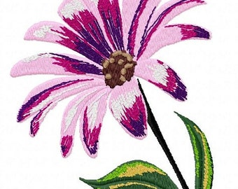 Daisy Machine Embroidery Design...2102