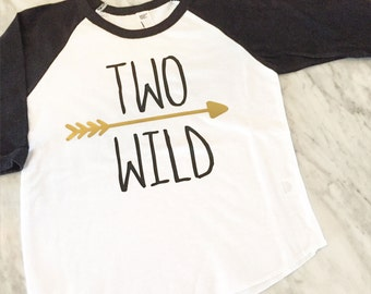 second birthday shirt, two wild birthday shirt, where the wild things are second birthday