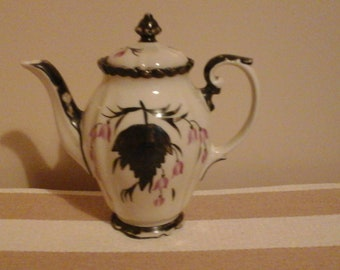 Rudolf Wachter Art Nouveau porcelain coffee pot