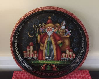 Old Saint Nick Plate