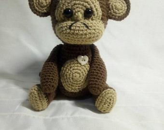 Amigurumi Little Monkey Plush