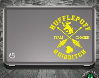 Hufflepuff Quidditch Decal