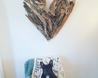 Driftwood heart, love is all you need. Driftwood love