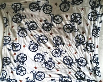 Bicycle Bike Infant Toddler Mountain fleece boutique