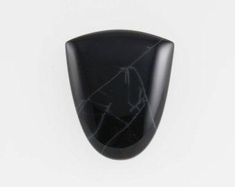 Spiderweb Obsidian Cab, Cabochon, Designer Cabochon, (SO4)