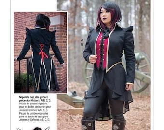 Cosplay Yaya Han by Mc Call's M7616 costume sewing pattern