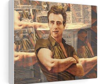 Canvas Gallery Wraps James Dean