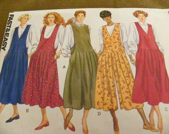 Sewing Pattern - Butterick 5051 - Misses' Jumper And Jumpsuit - Size 6 - 8 - 10