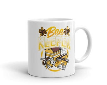 Bee Keeper Mug - Bees and Hive