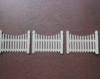 Die Cut Picket Fence -2c