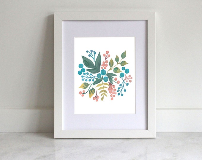 Home Printable | Leaves & Berries