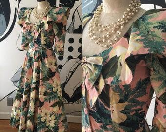 Carol Anderson Floral Pink Dress