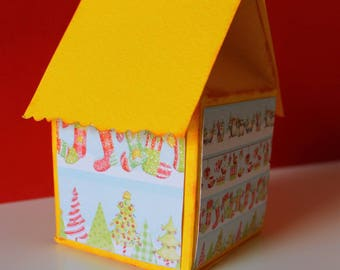 Milkbox (box) for an original Christmas