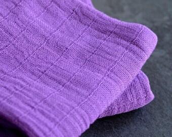 Hand Dyed Purple Swaddle - Purple Swaddle - Purple Swaddle - Gift for baby, babyshower