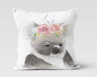 Koala Throw Pillow - Decorative Pillow - Home Decor  - Pillow Case