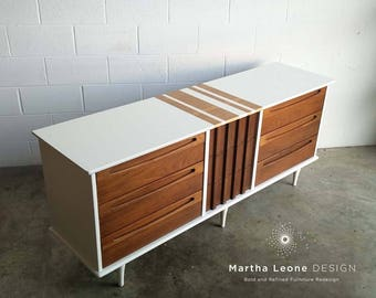 SAMPLE Customized Mid Century Dresser