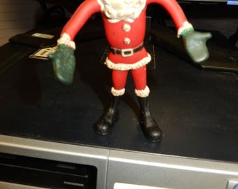 Vtg Christmas Toy Santa Claus