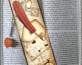 """Laminated bookmarks """"matching secret"""""""