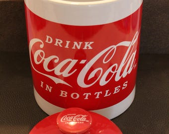Vintage Coca Cola Cookie Jar