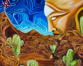 Awakening to the Matrix - Part 4 of The Awakening Series - fine art print by EmJae Lightningbug