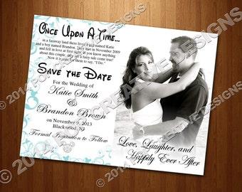 Disney Wedding Save The Date DIY PRINTABLE