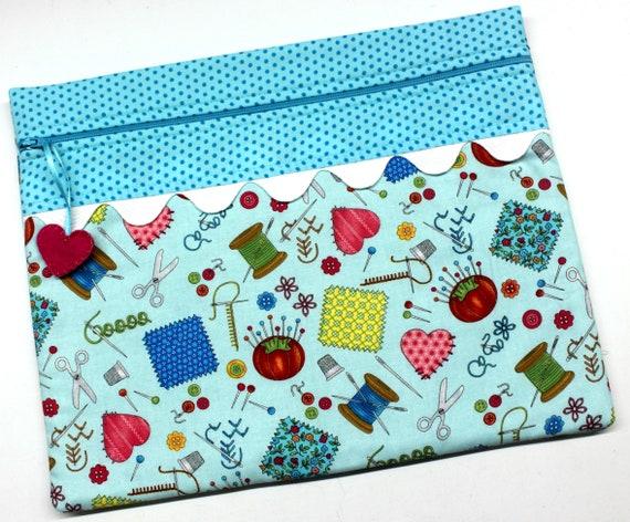 Aqua Needle Arts Cross Stitch Embroidery Project Bag