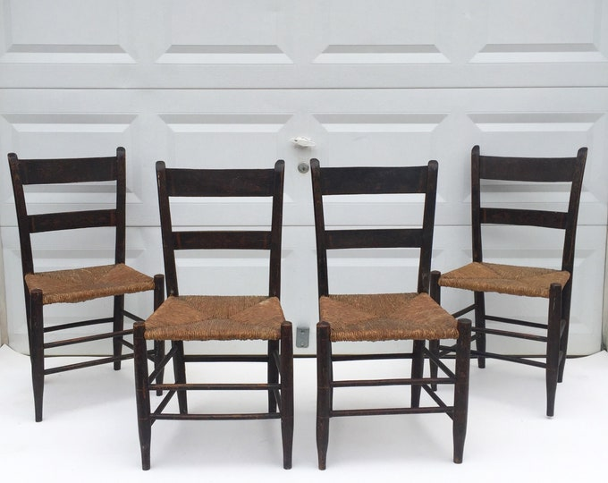 Rustic Farmhouse Dining Chairs