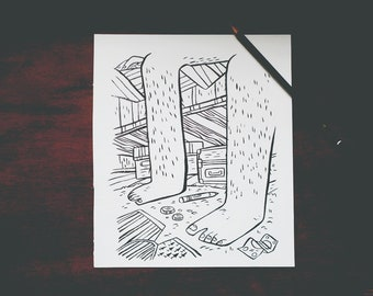 Under the Bed - Ink Sale