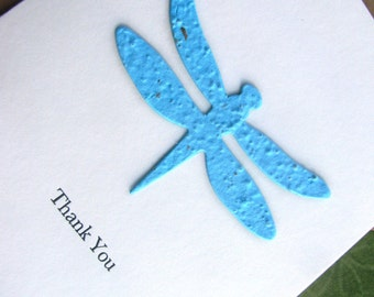 Thank You- Dragonfly Seed Paper