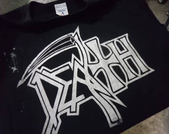 Nieuwe dood - laatste logo T shirt - S tot XXL, bloedbad, Terrorizer, karkas, Immolation...