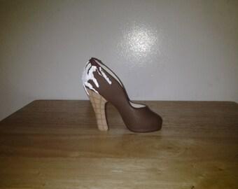 1 Milk Chocolate Ice Cream Cone Shoe