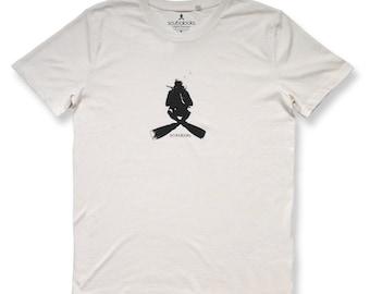 Scubalooks Original Divewear - Buddha Scuba Diver - 100% organic cotton T-shirt