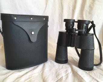Tento Binoculars 7x50 Leather Case Made in USSR