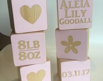 Children's personalised building blocks