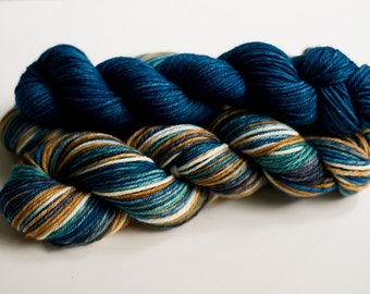 Colorway Recipe: Riverstone for dyeing on wool yarn.