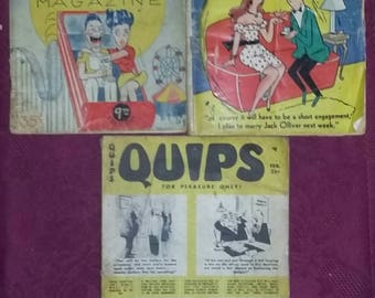 Vintage Joke Books. Humor Books from  1947 and 1955