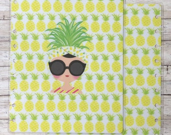 Pineapple Classic Happy Planner Cover