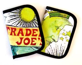 Micro Four Card Wallet Insert Trader Joe's Midori Travelers Notebook INsert