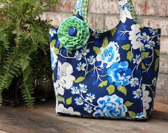 Ava Rose tote PDF sewing pattern