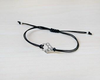Paw print bracelet, dog bracelet, cat bracelet, paw bracelet, pet bracelet, paw jewelry, pet lover, pet parent, cat lover, dog lover