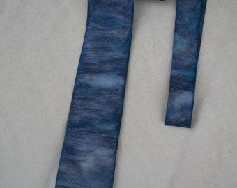 Hand Painted Silk Neck Tie