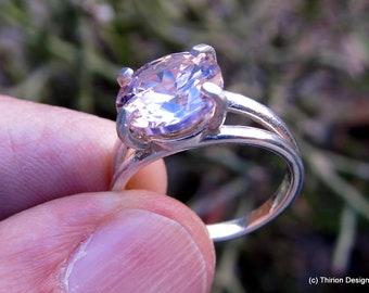 sapphire ring sapphire jewelry pink sapphire pink sapphire ring