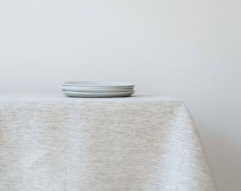 FREE Shipping US & Canada - Oatmeal Linen Tablecloth