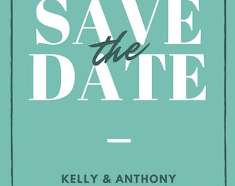 Simple Save the Date