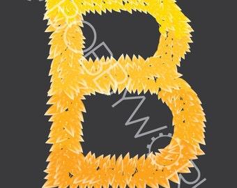 Alphabet Print - Letter B