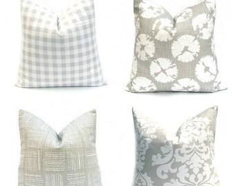 15% Off Sale Euro Pillow Sham, Euro Pillows, Euro pillow Covers, Gray Pillow Covers, Gray pillows, Euro Sham, Gray Pillow, Decorative pillow